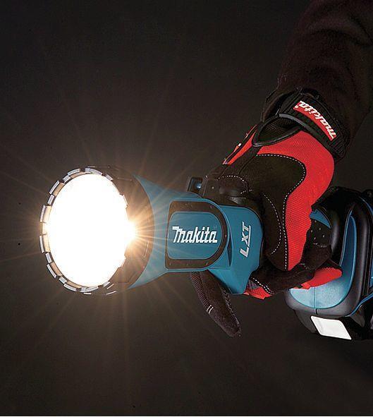 Makita DEADML185 luce da lavoro Nero, Turchese - 2
