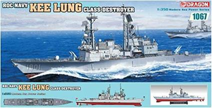 Nave Kee Lung Class Destroyer 1/350. Dragon Models DR1067