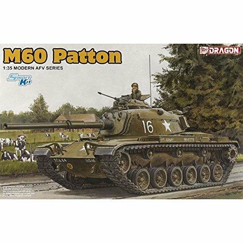 Carro armato M60 Patton. Dragon Models DR3553