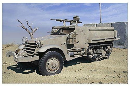 Veicolo semicingolato IDF M3 HALFTRACK w/20cm HS.404 CANNON 1/35. Dragon Models DR3598