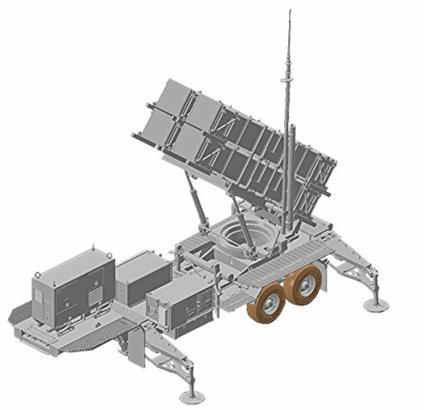 Missile terra-aria MIM-104C PATRIOT SAM PAC-2 1/35. Dragon Models DR3604