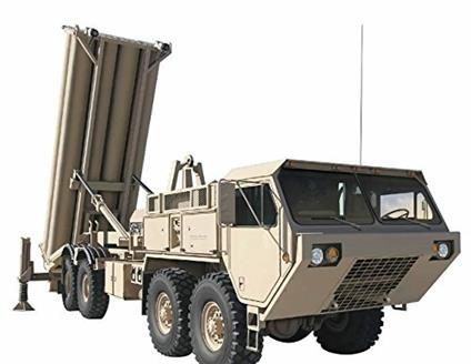Missile terra-aria M1120 Terminal High Altitude Area Defense Missile Launcher 1/35. Dragon Models DR3605