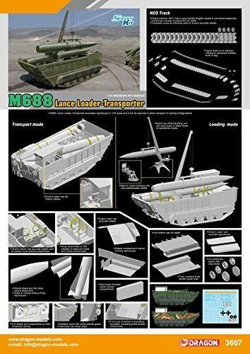M688 Lance Loader-Transporter 1/35. Dragon Models DR3607