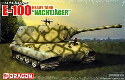 Carro Armato E-100 Heavy Tank Nachtjager 1/35. Dragon Models DR6011X