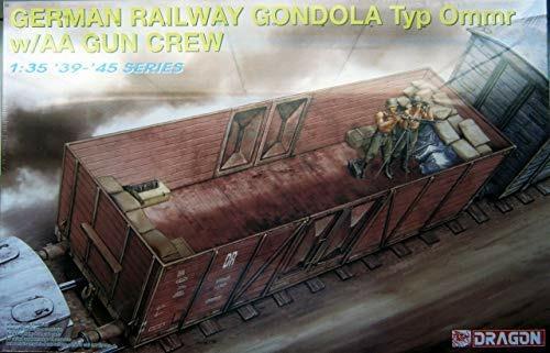 Vagone German railway gondola 1/35. Dragon Models DR6086