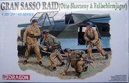 Gran sasso raid 1/35. Dragon Models DR6094
