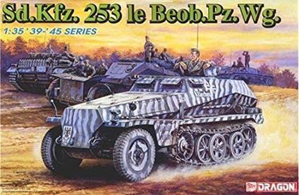 Mezzo blindato SD.KFZ 253 BEOB Pz.Wg. 1/35. Dragon Models DR6140