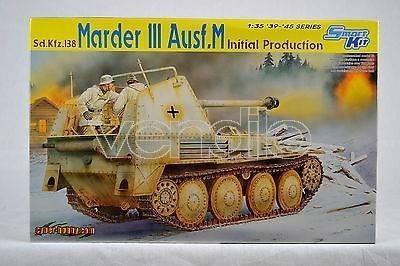 Modellino Dragon 6464 Marder Iii Ausf.M Initial Production Smart Kit 1:35 Mezzi Militari
