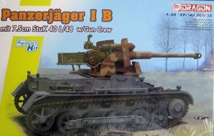 Carro Armato PANZERJAGER I B mit STUK L/48 1/35. Dragon Models DR6781