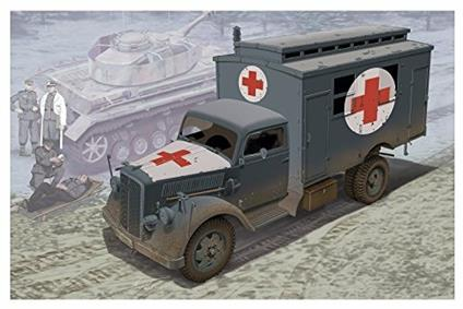 Ambulanza tedesca 1/35. Dragon Models DR6790