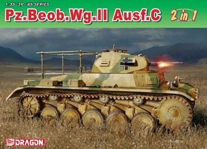 Carro Armato PZ. BEOB WG.II AUSF A-C 1/35. Dragon Models DR6812