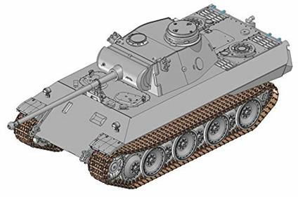 Carro armato Panther AUSF.D V2 1/35. Dragon Models DR6822