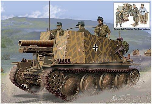 Carro Armato SD.KFZ.138/1 GESCHUTZWAGEN 38H FUR.S.IG33/1 INIT. PROD. 1/35. Dragon Models DR6857