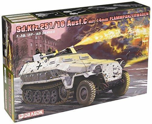 Veicolo semicingolato SD.KFZ.251/16 C FLAMMPANZERWAGEN 1/35. Dragon Models DR6864