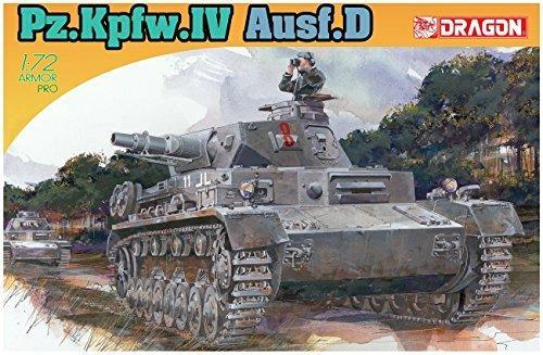 Carro armato PZ.KPFW.IV AUSF D. Dragon Models DR7530