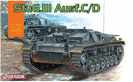 Carro Armato STUG. III AUSF. C/D 1/72. Dragon Models DR7553
