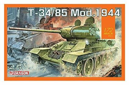 Carro Armato T-34/85 MOD.1944 1/72. Dragon Models DR7556