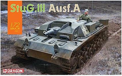 Carro Armato StuG.III Ausf.A 1/72. Dragon Models DR7557