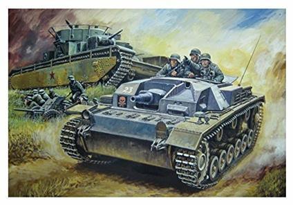 Carro Armato StuG.III Ausf.B 1/72. Dragon Models DR7559