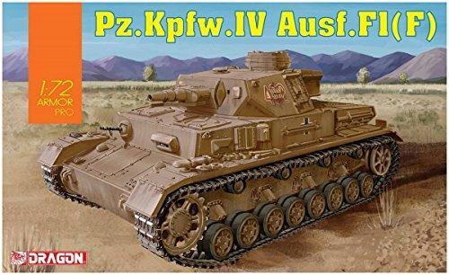 Carro Armato Pz.Kpfw.IV Ausf.F1 1/72. Dragon Models DR7560