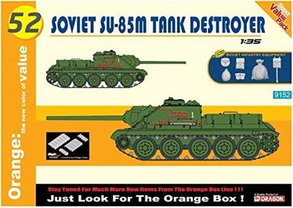 Carro Armato SOVIET SU85M TANK DESTROYER 1/35. Dragon Models DR9152