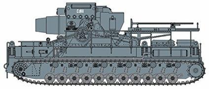 Carro armato German self propelled mortar 60cm Karl 1/35. Dragon Models DR9157
