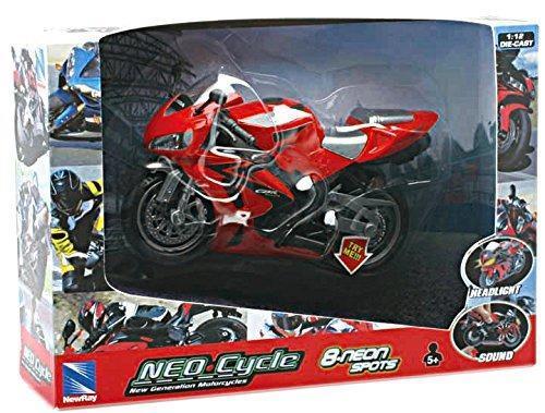1:12 Motorcycle B/O Light & Sound 01993I - 2