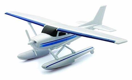 NewRay 20653, Sky Pilot Cessna 172 Skyhawk With Float, Idrovolante, Scala 1:42