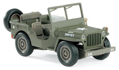Jeep Willis 1/32 54133