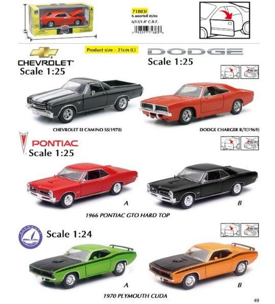 Newray (718831) Auto Collection 1:25