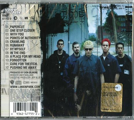 Hybrid Theory - CD Audio di Linkin Park - 2