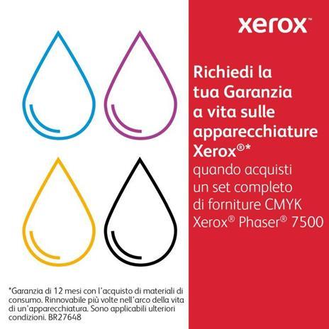 Xerox Cartuccia toner Magenta a Standard da 9600 pagine per Phaser 7500 (106R01434) - 4