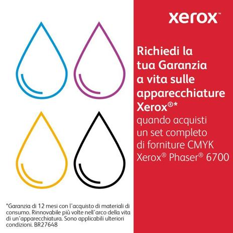 Xerox Cartuccia toner Magenta a Standard da 5.000 pagine per Phaser 6700 (106R01504) - 2