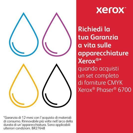Xerox Cartuccia toner Giallo a Standard da 5.000 pagine per Phaser 6700 (106R01505) - 2