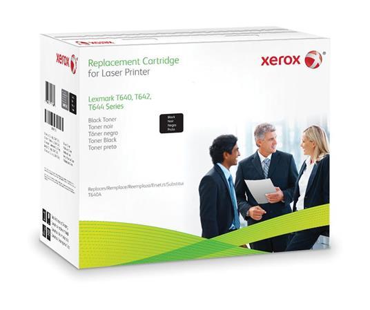 Xerox Cartuccia toner nero. Equivalente a Lexmark 64016HE, 64036HE. Compatibile con Lexmark T640, T642, T644
