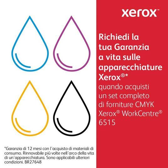Xerox Cartuccia toner Giallo da 2.400 pagine per Phaser 6510 / WorkCentre 6515 (106R03479) - 10
