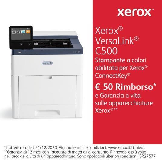 Xerox Cartuccia toner Ciano a Standard da 2.400 pagine per VersaLink C500 / C505 (106R03859) - 3