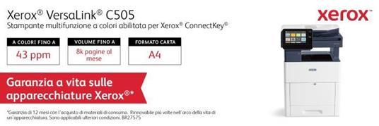 Xerox Cartuccia toner Ciano a Standard da 2.400 pagine per VersaLink C500 / C505 (106R03859) - 4