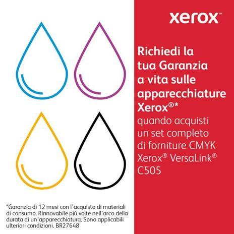 Xerox Cartuccia toner Ciano a Standard da 2.400 pagine per VersaLink C500 / C505 (106R03859) - 6