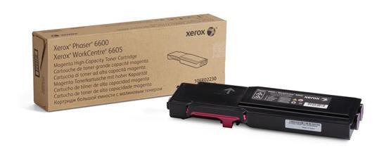 Xerox Cartuccia toner Magenta da 6.000 pagine per Phaser 6600 / WorkCentre 6605 (106R02230)