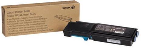 Xerox Cartuccia toner Ciano a Standard da 2.000 pagine per Phaser 6600 / WorkCentre 6605 (106R02245) - 2