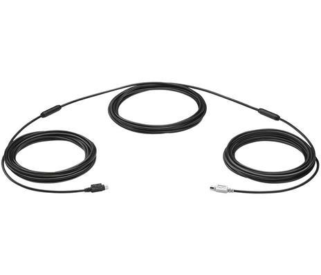 Logitech 939-001490 cavo PS/2 15 m 6-p Mini-DIN Nero - 2