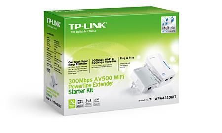 Adattatore PoE TP-LINK Av500 Wi-fi Range Extender Powerline Edition Starter Kit W/ 2 LAN Ports - 2