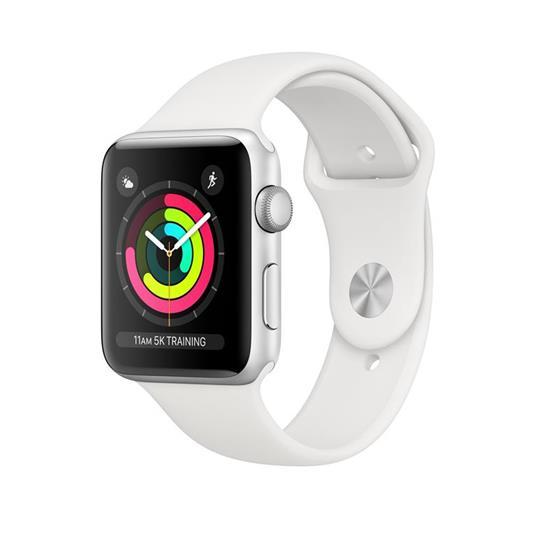 Apple Watch Series 3 OLED 42 mm Argento GPS (satellitare)