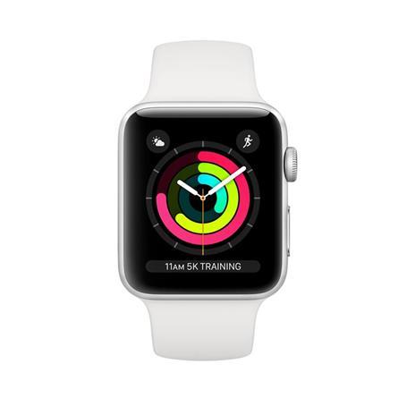 Apple Watch Series 3 OLED 42 mm Argento GPS (satellitare) - 2