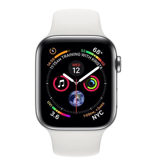 Apple Watch Series 4 OLED 40 mm Acciaio inossidabile 4G GPS (satellitare) - 2