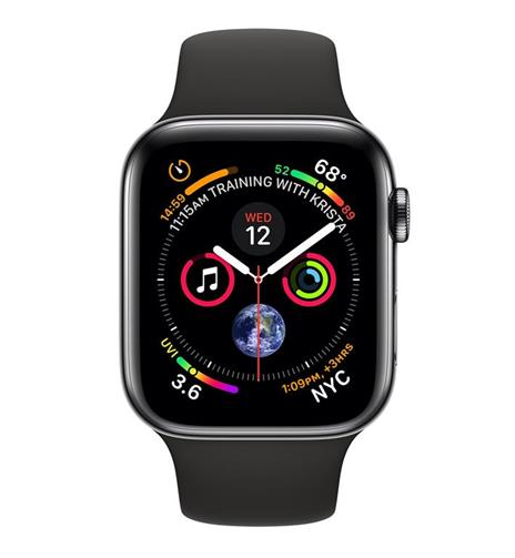 Apple Watch Series 4 OLED 40 mm Nero 4G GPS (satellitare) - 2
