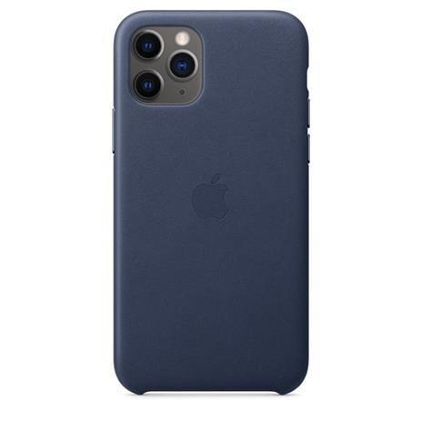 Apple Custodia in pelle per iPhone 11 Pro - Blu notte - 2