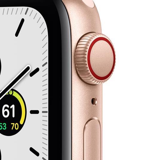 Apple Watch SE OLED 40 mm Oro 4G GPS (satellitare) - 7