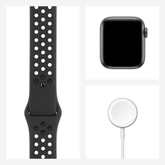 Apple Watch SE Nike OLED 40 mm Grigio 4G GPS (satellitare) - 5